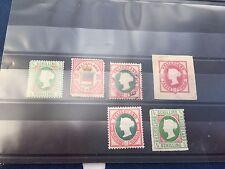 Germania Helgoland USATO Nuovo di zecca etc francobolli su carta di magazzino