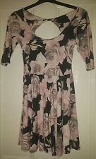 new look floral size 8 skater dress
