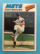 1977 Topps Baseball Card #150 Tom Seaver New York Mets