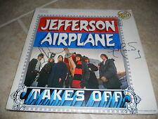 Jefferson Airplane Takes Off Signed LP Album x2 Jack & Jorma PSA Guarantee