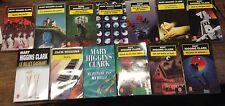 Lot de 13  livres de Mary Higgins Clark éditions livre de poche