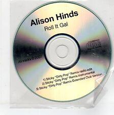 (EG216) Alison Hinds, Roll It Gal - 2007 DJ CD
