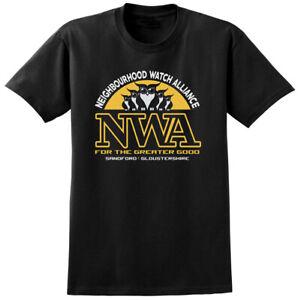 Hot Fuzz NWA Inspired T-shirt - Retro Classic British Film Movie Mens Ladies Tee