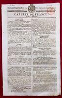 Demimiud à Chaumont en 1816 Haute Marne Guadeloupe Bordeaux Gazette de France