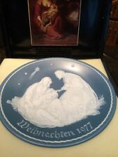 Mettlach Villeroy Boch Phanolith Plate Charger 1977 Original Box and Paperwork