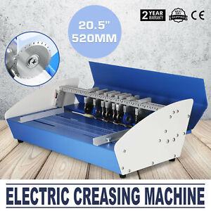 5in1 520mm Electric Creasing Machine Cutters Perforator Scorer Creasers Card