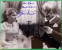 John Hurt And Hannah Gordon signed 10x8 photograph