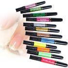 12Pcs Color Nail Art Varnish Polish Liner 2 Way Brush Painting Pen Drawing New