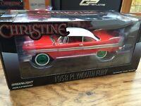 GREENLIGHT 84071 GRW PLYMOUTH FURY CHRISTINE model car red / white 1958 1:24th