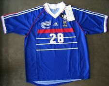 Authentique Maillot Adidas France 1998