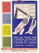 W130-ANTITUBERCOLARE-XXII COMPAGNIA NAZ. 1959-ROVERONI