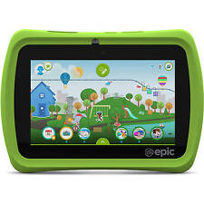 "LeapFrog Epic 7"" Android-based Kids Tablet 16GB Great Fun And Educational & Safe"