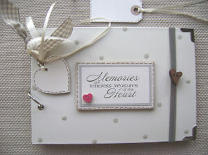 PERSONALISED. memories. A5 SIZE. 20 pages..PHOTO ALBUM/SCRAPBOOK/MEMORY BOOK