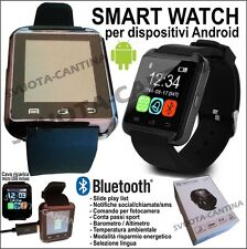 SMARTWATCH OROLOGIO BLUETHOOTH ANDROID PER SAMSUNG GALAXY S2 S3 NEO S4 S5 S6