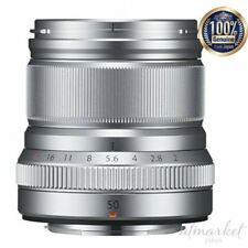 FUJIFILM Single focus medium telephoto lens XF50mmF2 R WR S Silver Camera