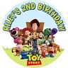 PERSONALISED TOY STORY QUALITY GLOSS SWEET CONE LABELS PARTY BAG BOX STICKERS