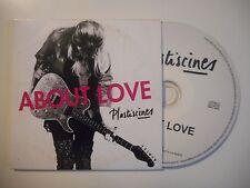 PLASTISCINES : ABOUT LOVE [ CD ALBUM ]