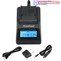 Kastar Battery LCD Fast Charger for Sony Genuine NP-BX1 & Sony Type X Battery