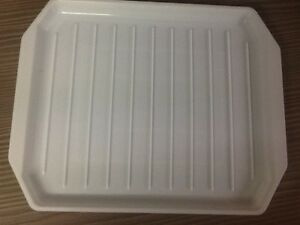 New microwave bacon tray crisping rack