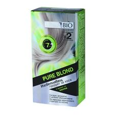Linea Bio PURE BLOND Lightener Bleaching LONG HAIR Mint Scent Up To 7 Tones