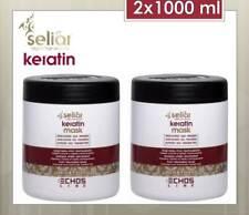 ECHOSLINE Seliar Keratin Mask-Maschera ricostruzione capelli trattati (2x1000ml)