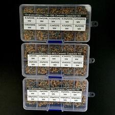 Multlayer Ceramic Capacitor Assorted kit box 30values x50 10pF~10uF (100~106)