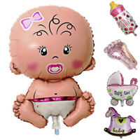 5Pcs Baby Shower Balloons Birthday Party Decoration Foil Balloons Baby Girl Boy