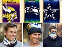NFL Fleece Lined Warm Face Scarf Dallas Cowboys Football Team Fan Gift Souvenir