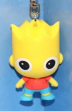 THE SIMPSONS 3-D FIGURAL KEY-RING / CHAIN BART