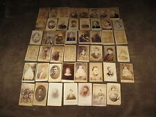 47 Fabulous Vintage Victorian Era Smaller Cabinet Cards of All Kinds - LOOK!!!!!