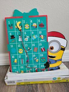 NEW Universal Studios Advent Calendar - MERRY MINIONS Mayhem Despicable Me Gemmy