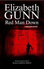 A Sarah Burke Mystery: Red Man Down 5 by Elizabeth Gunn (2014, Hardcover)