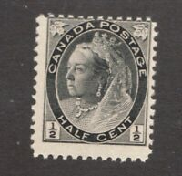 #74ii  - Canada - 1898 - ½ Cent Re-Entry -  MNH  -  VG/F  - superfleas
