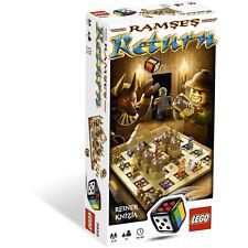 Set complet LEGO GAMES Ramses Return boite 3855 / NEUF SOUS BLISTER