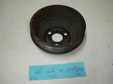 Mercedes-Benz W140 300SE 300SEL power steering pulley 140 460 00 79