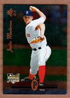 2008 UD Timeline #346 Justin Masterson RC Boston Red Sox rookie SP mint cond