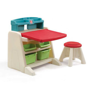 "FLIP & DOODLE 23.75"" W Art Desk and Chair Set"