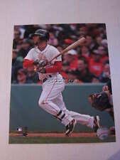Dustin Pedroia Boston Red Sox Action Shot 8x10