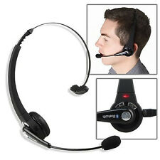 Wireless Bluetooth Headset Headphone with Mic For PS3 Cell Phones Computer Salab