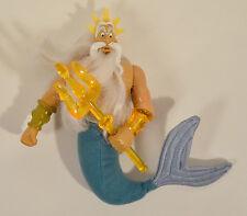 "RARE 2000 King Triton 6"" McDonald's Europe Action Figure Disney Little Mermaid 2"