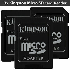 New Micro SD Card Reader for Kingston 16GB 32GB TF Converter SDHC Memory Card SD