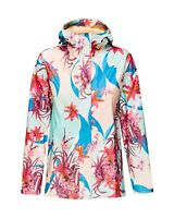 Women's HELLY HANSEN MOSS RAIN COAT JACKET Full Zip Waterproof Windproof SIZE XL
