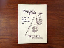 Rare - Triumph Ferrier & Tiger Cub - Replacement parts - Catalogue No 3 - 1956