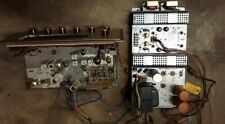 The Fisher 1965 Tube Tuner Preamp 49-T, amp 49-A