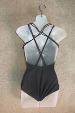 Capezio Black Spotlight Camisole Cami Leotard Leo TB200W Size SA  Small Adult