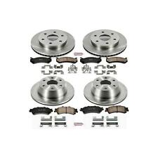 Power Stop KOE2010 Disc Brake Pad and Rotor Kit