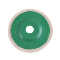 4'' Felt Wool Buffing Angle Grinder Wheel Felt Polishing Disc Pad &LJ