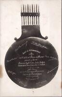 Conference Locarno 1925 Treaty RPPC Real Photo Postcard E20