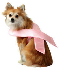 PINK RIBBON HALLOWEEN PET DOG RASTA IMPOSTA - A COSTUME WITH A CONSCIENCE - MED