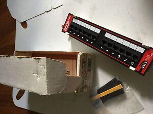 NEW LEGRAND  PSPP1289A PASS & SEYMOUR  PATCH PANEL,BOXYF